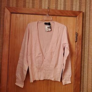 Mossimo thin cardiganight pink vintage